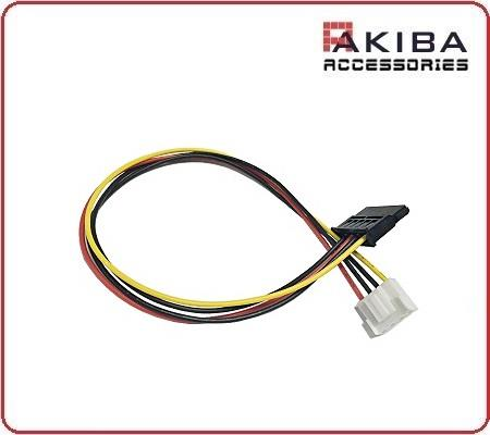 15p F SATA Power Cable to HikVision DVR 4p F 3.96 Connector (Type 1)