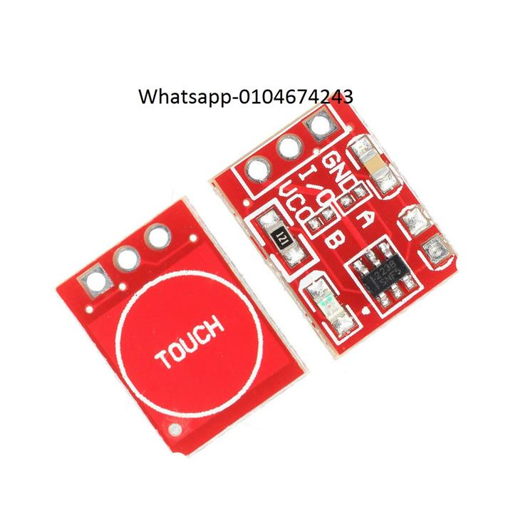 15PCS TTP223 Capacitive Touch Sensor Button For Arduino