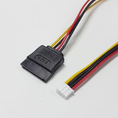 15pin SATA F to F 2.0mm Small 4pin ITX ATX Power Supply Cable (Type 1)