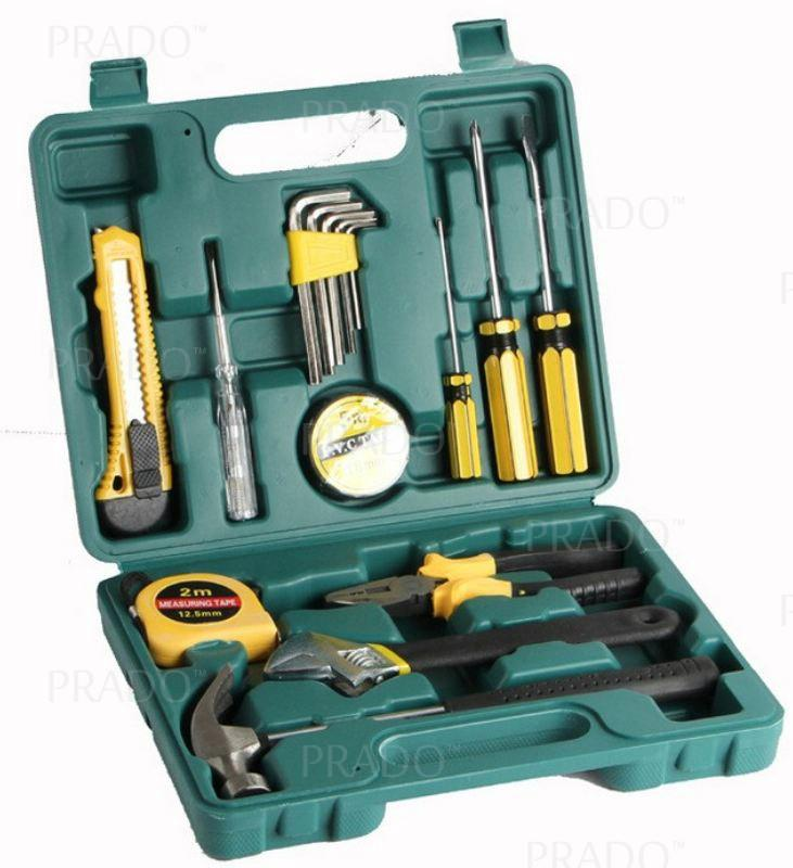 16 in 1 Hardware Hand Tools Set Kit Allen Hex Key with Box