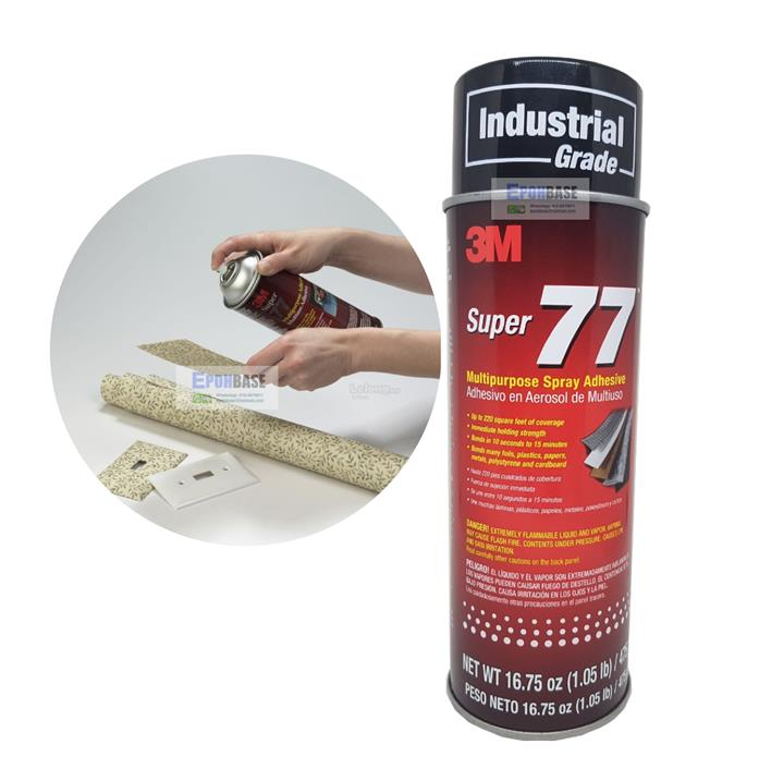 16.75FL OZ 3M SUPER 77 MULTI PURPOSE SPRAY ADHESIVE (Industrial Grade)