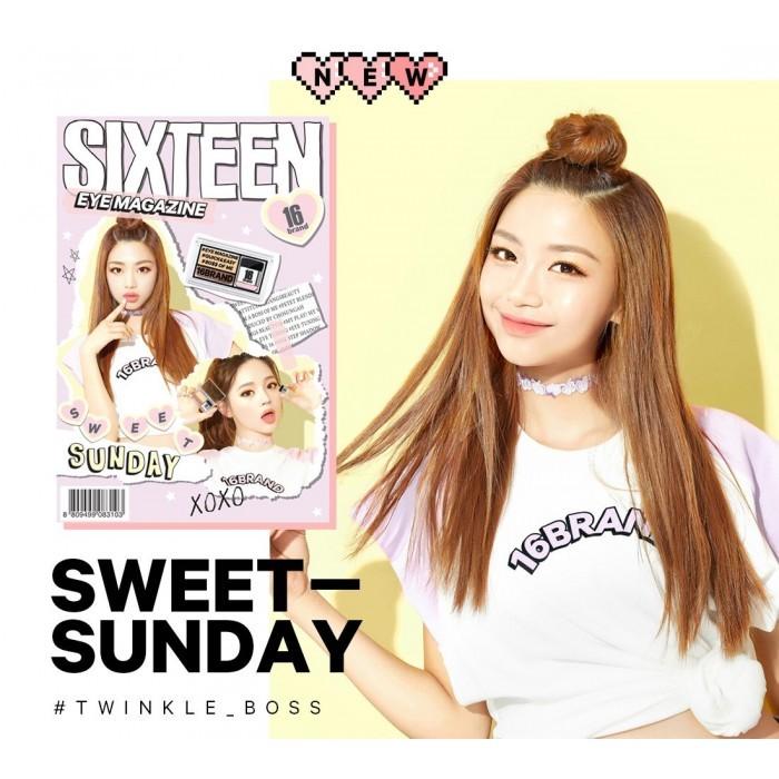 16 Brand Eye Magazine (Duo Eye Shadow 2 5g) No 3 Sweet Sunday