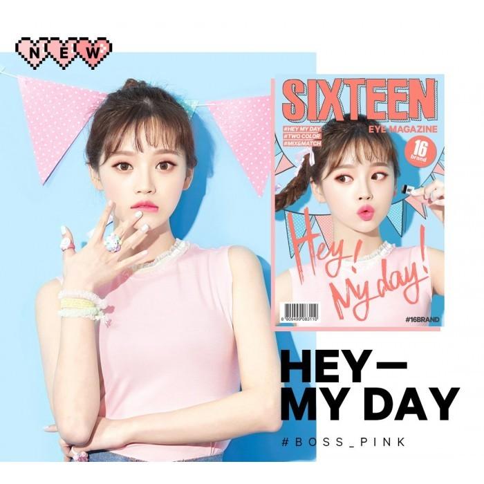 16 Brand Eye Magazine (Duo Eye Shadow 2 5g) No 4 Hey My Day