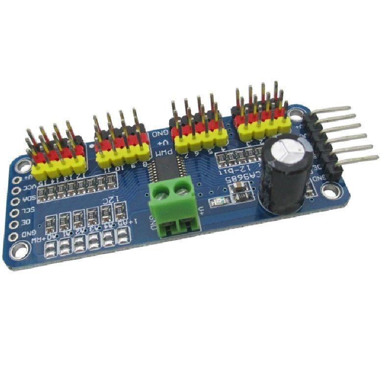 16 Channel 12 bit PWM Servo Control Board Driver for Arduino