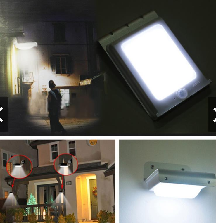 16 LED Solar Power Motion Sensor Security Lamp Light