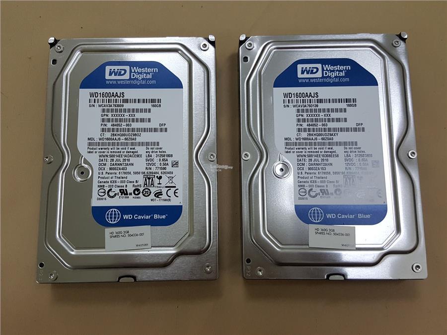 160GB DESKTOP HDD 3.5 INCH SATA HARD DISK WD SEAGATE SAMSUNG INTERNAL
