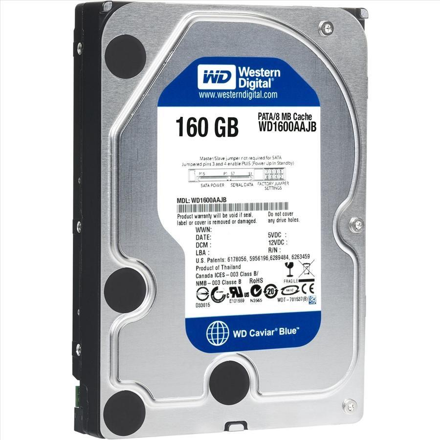 "160GB SATA 3.5"" Desktop Mix Brand Hard Disk Drive HDD"