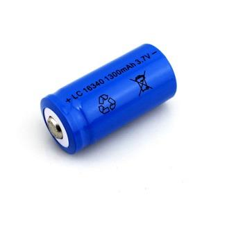 16340 Rechargeable 1300mAh 3.7V Battery LC-16340