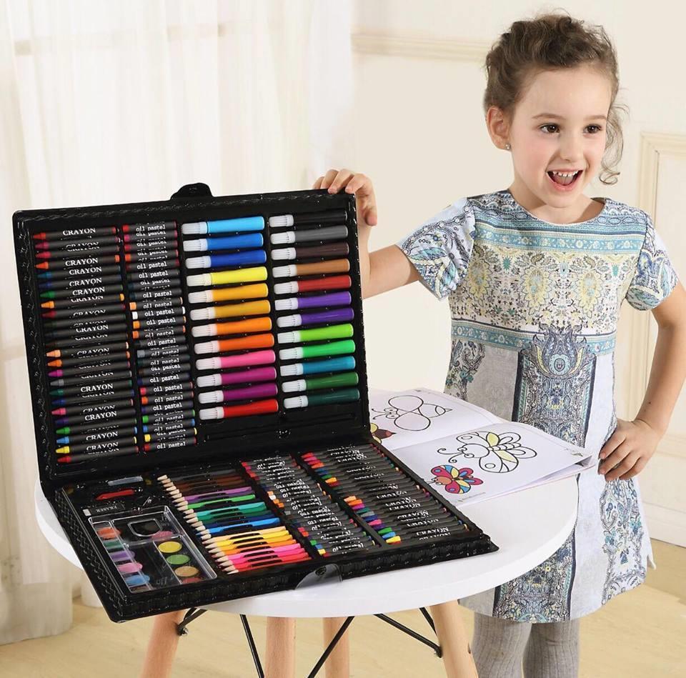 168pcs Kids Drawing Art Set Case Kit End 5 23 2019 7 01 Pm