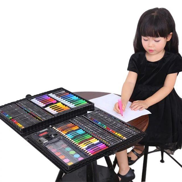168pcs Kids Painting Pen Colour Crayon.Marker Pencil Drawing Art