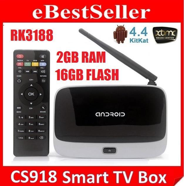 16GB 2G RAM CS918 Q7 Android 4 4 1 6GHz TV Box Wifi MXQ Pro mini PC