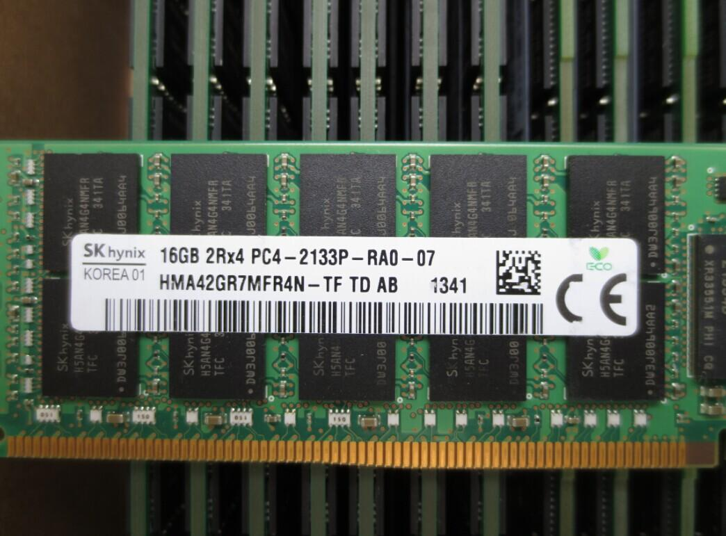 16GB ECC PC4-2133P DDR4 2133 Server ram for Dell HP IBM