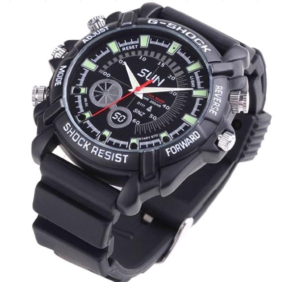 16GB Night Vision Waterproof Watch Camera (DVR-11IR16GB).!