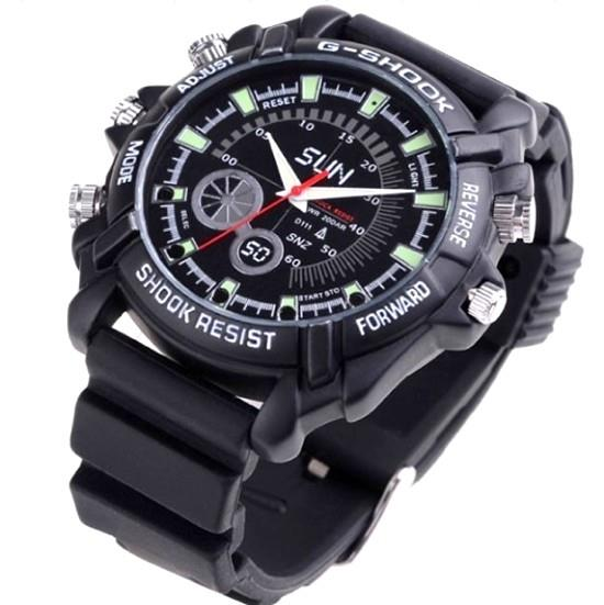 16GB Night Vision Waterproof Watch Camera (WCH-09C).