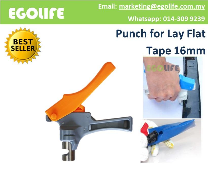 16mm Punch for Lay Flat Tape, Irrigation Water Lay Flat Tube Punch 16m