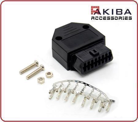 16p OBD Connector J1962 OBDII Female Pin Connector Casing