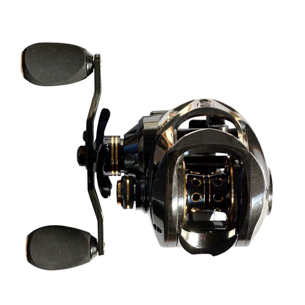 17+1 Ball Bearings Carbon Baitcasting Fishing Reel 7 0:1 Bait Casting Reels  Le