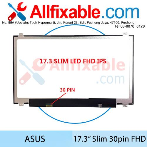 17.3 Slim LED FHD (30pin) Asus ROG G752VS