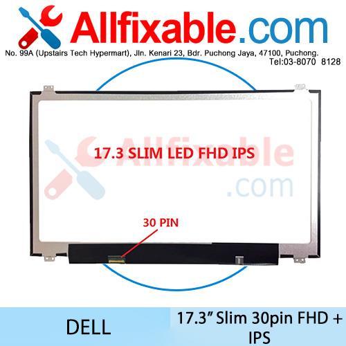 17 3 Slim LED FHD IPS (30pin) Dell Alienware 17 R3 P43F