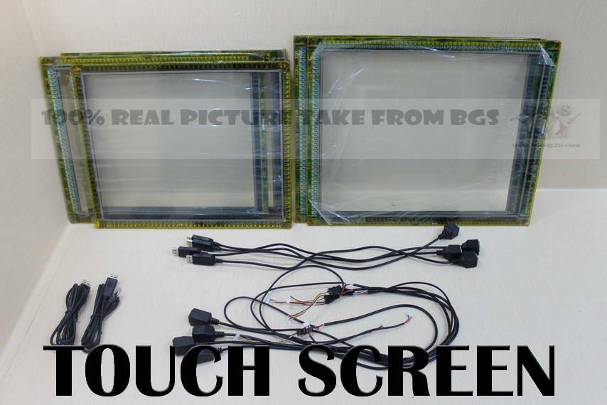 17' inch 4:3 Touchscreen PANEL LCD LED TV MONITOR (WIN 7 / XP ,USB)
