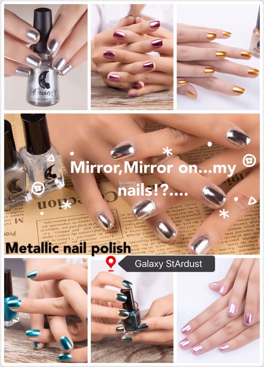 17color Nail Polish Metallic Chrome Mirror Finish Million Dollar Look