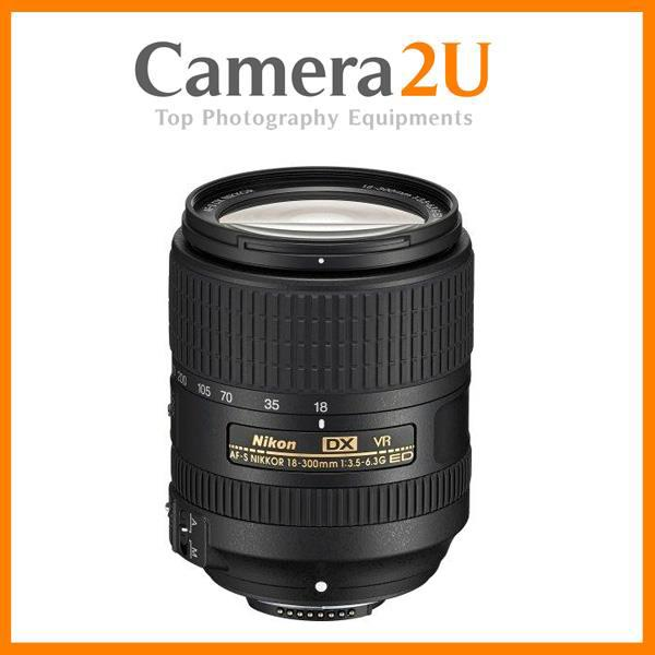 New 18-300mm AF-S DX f/3.5-6.3G ED VR Lens (Nikon MSIA)
