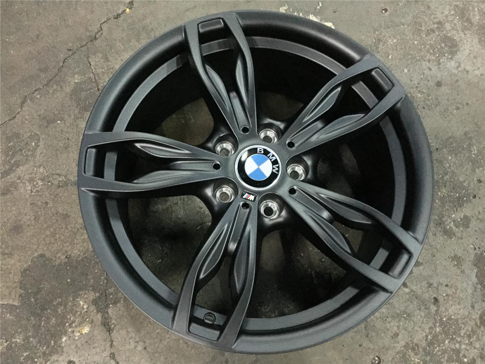 rim bmw wheel rear with black machined style oem styles