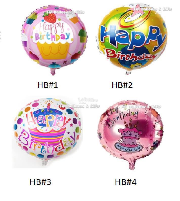 18 Inch Happy Birthday Foil Balloon End 8 19 2018 1032 PM