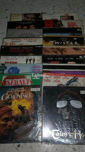 18 LASER DISC LD LOT