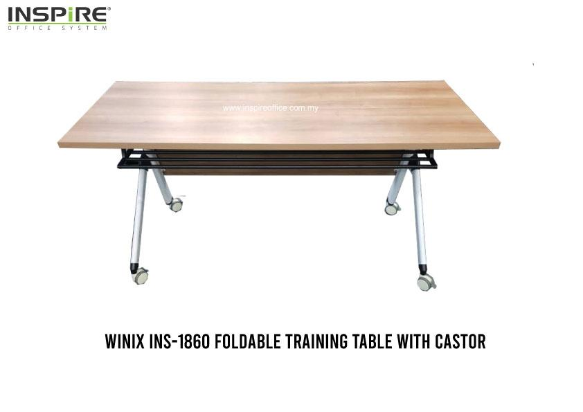 1800W X 600D (mm) WINIX Portable Foldable Table | Roller Folding Table