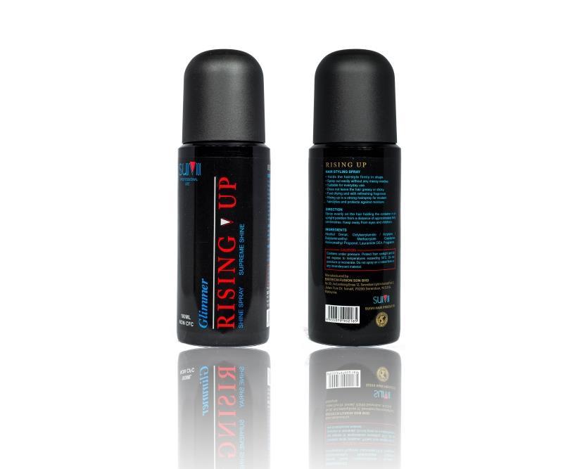 180ml Rising Up Glimmer Styling Shine Hair Spray