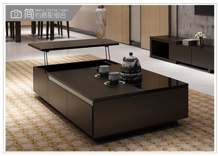 18321216641	tempered glass creative lift coffee table  1300*700*360mm