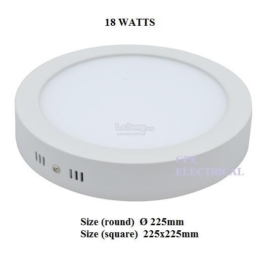 18W Surface LED Down Light Panel Lamp