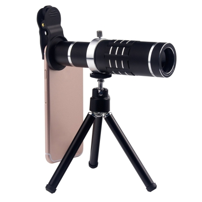 18X Telephoto Lens,Aluminum Telephoto Manual Focus Telescopic
