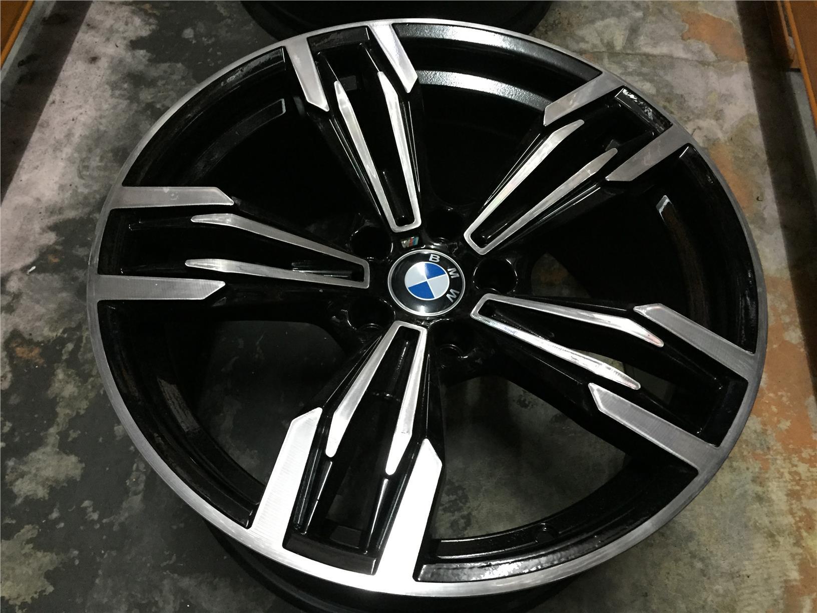 bbs styles style products basketweave bmw wheel black oem factory rim
