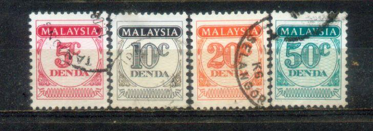 1986 Malaysia Postage Due