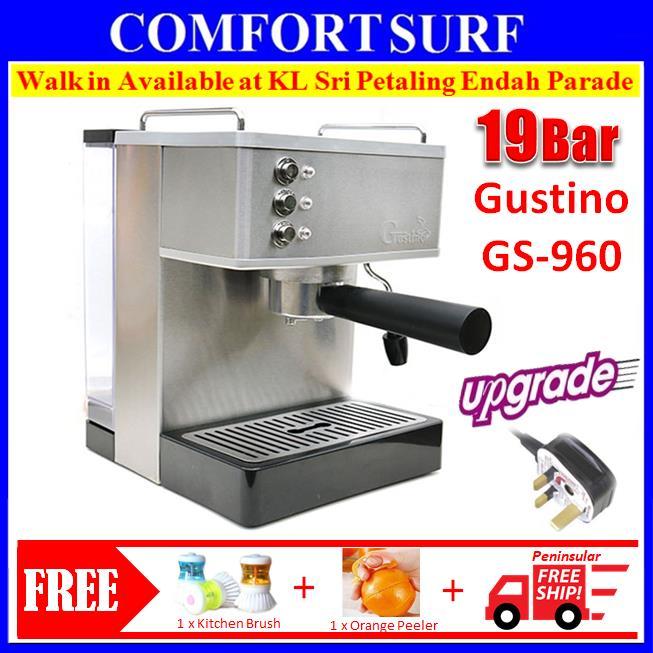 19bar Gustino Gs690 Quality Espresso Italian Coffee Maker Machine