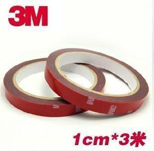 1cm 3m double sided tape adhesive sticker foam tape
