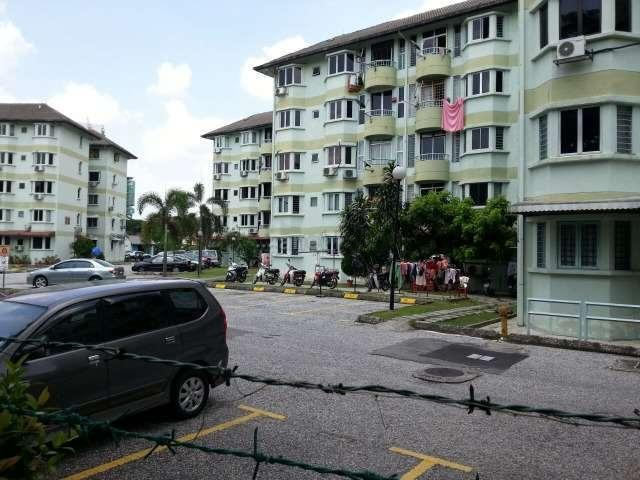 1K Tricourt Apartment for sale, Taman Sri Sentosa, Old Klang Road