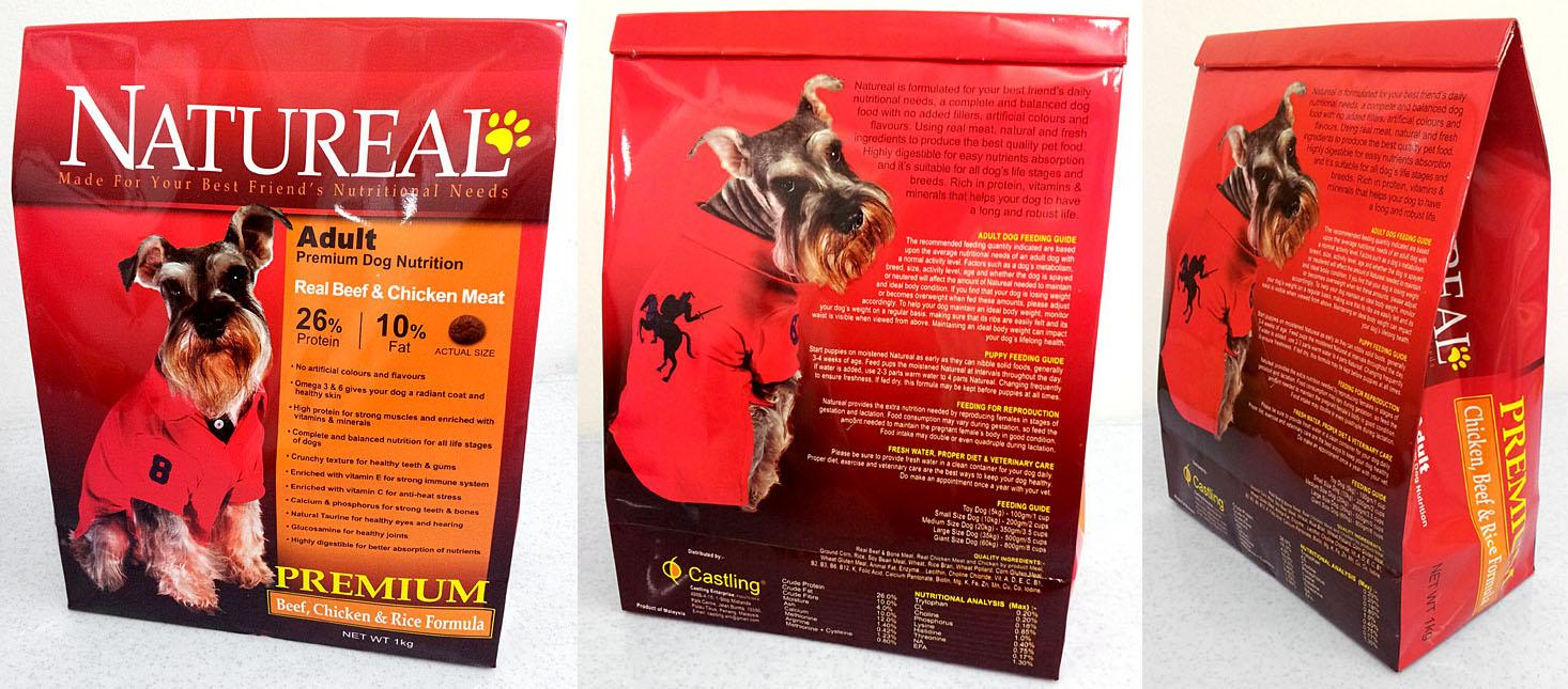 1KG NATUREAL ADULT PREMIUM DOG FOOD