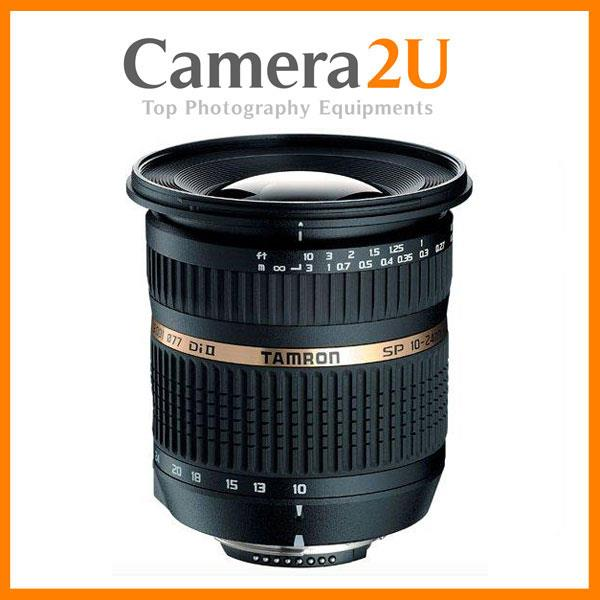 1pc Offer Canon mount Tamron 10-24mm F3.5-4.5 SP AF Di II LD IF Lens