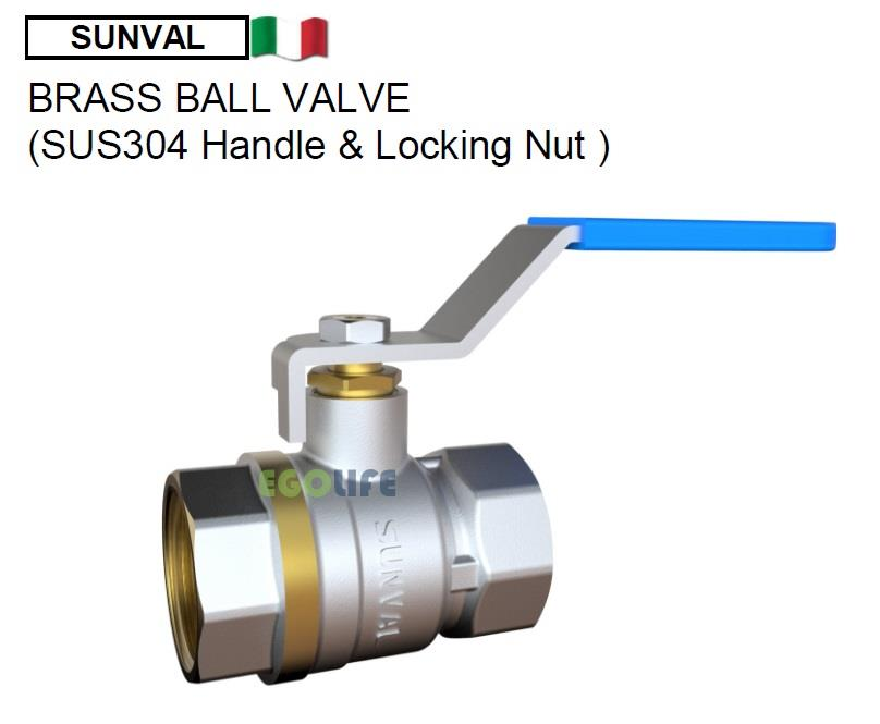 1pcs of Brass Ball Valve S1208 Plumbing Fitting [1 25' or 1 5' or 2']