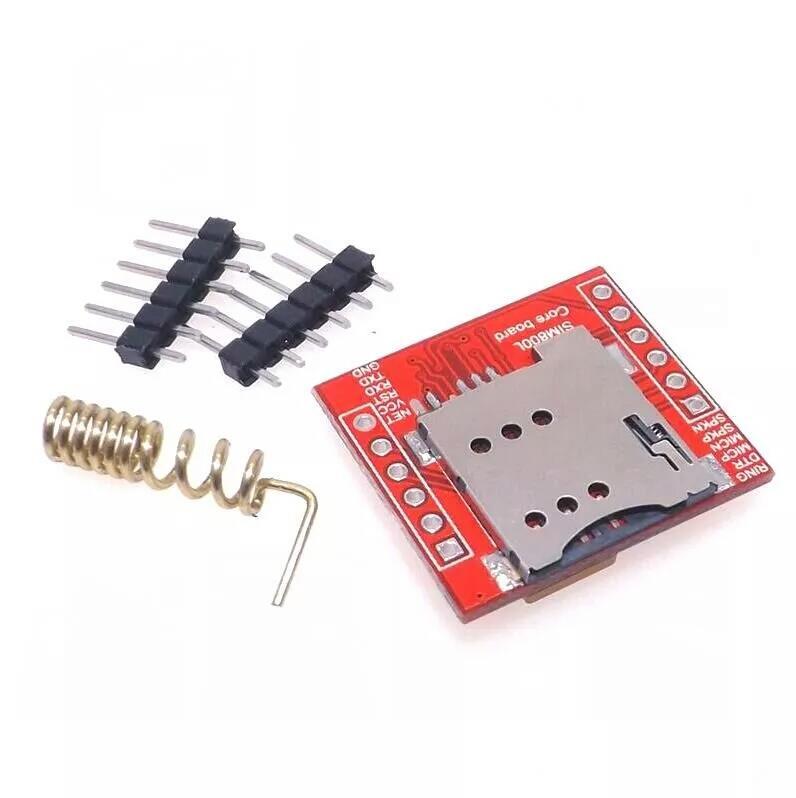 1pcs Smallest SIM800L GPRS GSM Module MicroSIM Card Core BOard