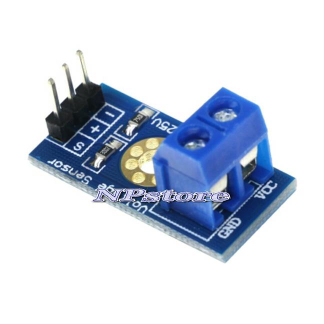 1pcs Voltage Sensor Module for Arduino