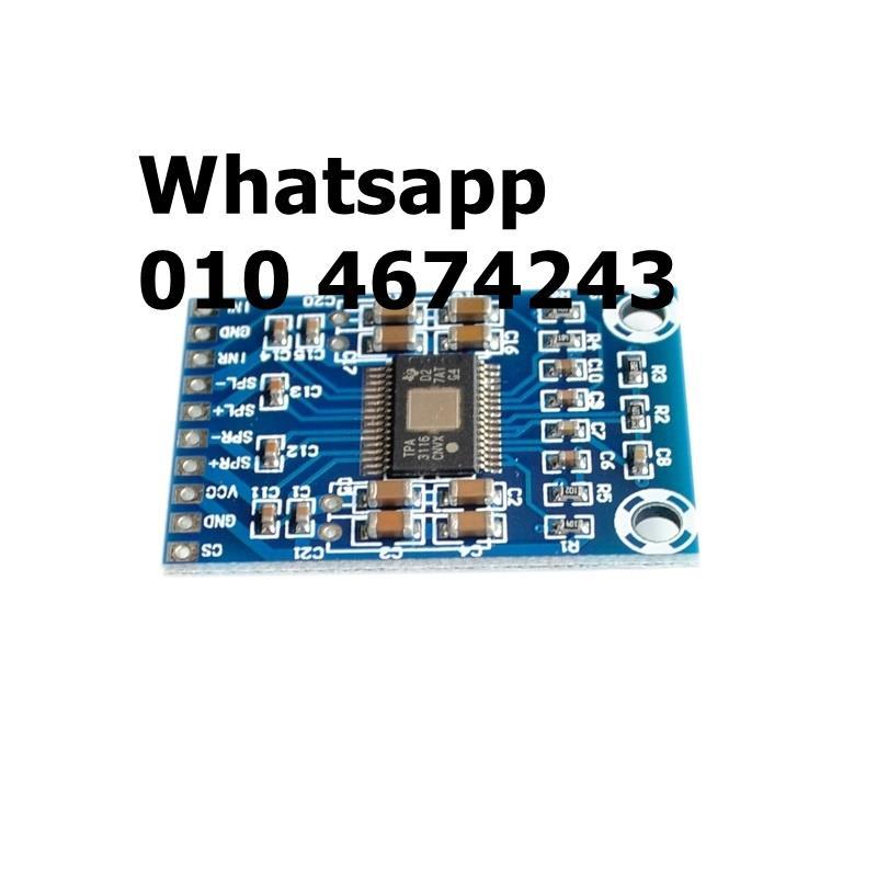1PCS XH-M562 TPA3116D2 50Wx2 Dual Channel Mini Digital Amplifier Board