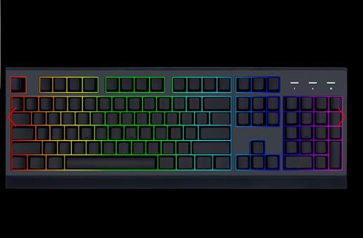 1STPLAYER BLACK SIR II K7 TITAN MECHANICAL KEYBOARD