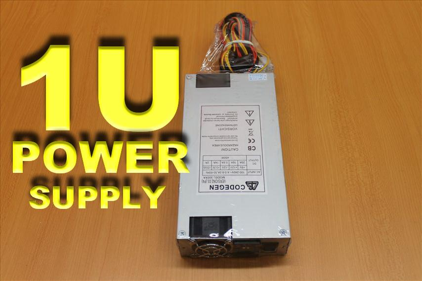 1U SERVER POWER SUPPLY 450WATT (300XA) -NEW