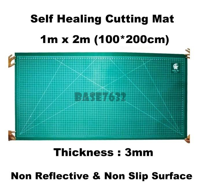 1x2m 100*200cm 1*2 1x2 Extra Large PVC Cutting Mat  Thickness 3mm