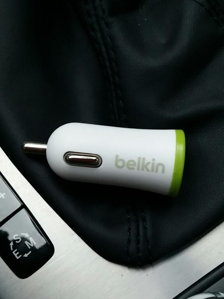 2.1 Amp Belkin 1 USB Port Car Charger