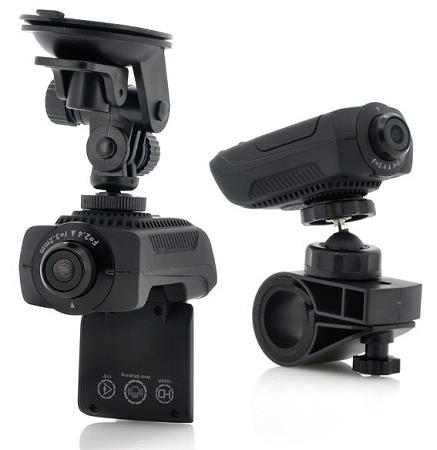 2-in-1 Camera, HD Sport Action Camera and Car Dash Cam (WCR-21C).